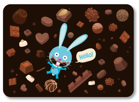 illustration de chocolats
