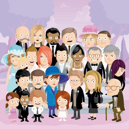 illustration de famille