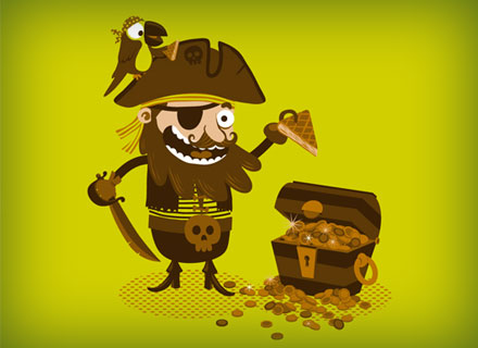illustration de pirate