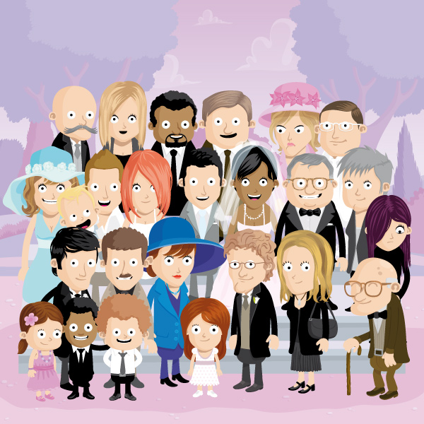 famille-mariage