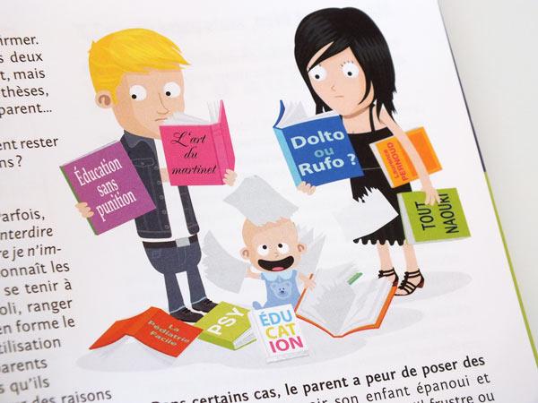 illustration sur le thème des parents