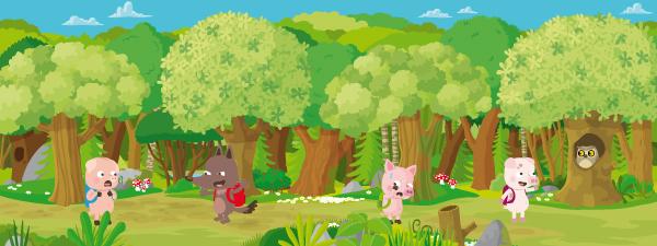 illustration de cochons