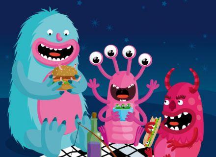 illustration jeunesse de monstres
