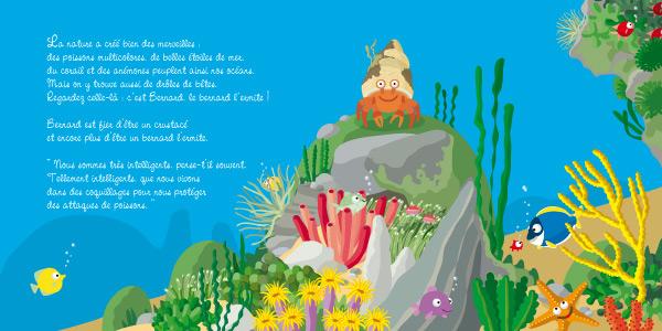 illustration jeunesse de livre pour enfant