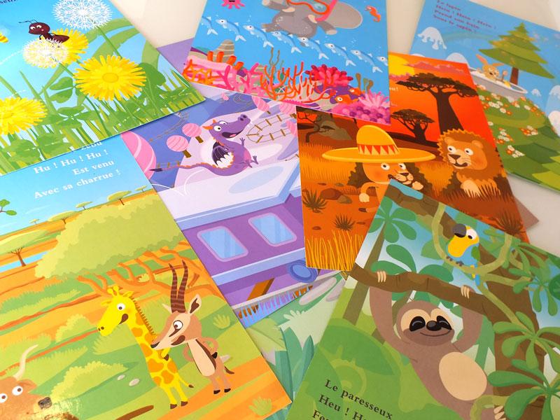 illustrations jeunesse sur le thème des animaux