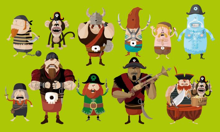 pirates-casting