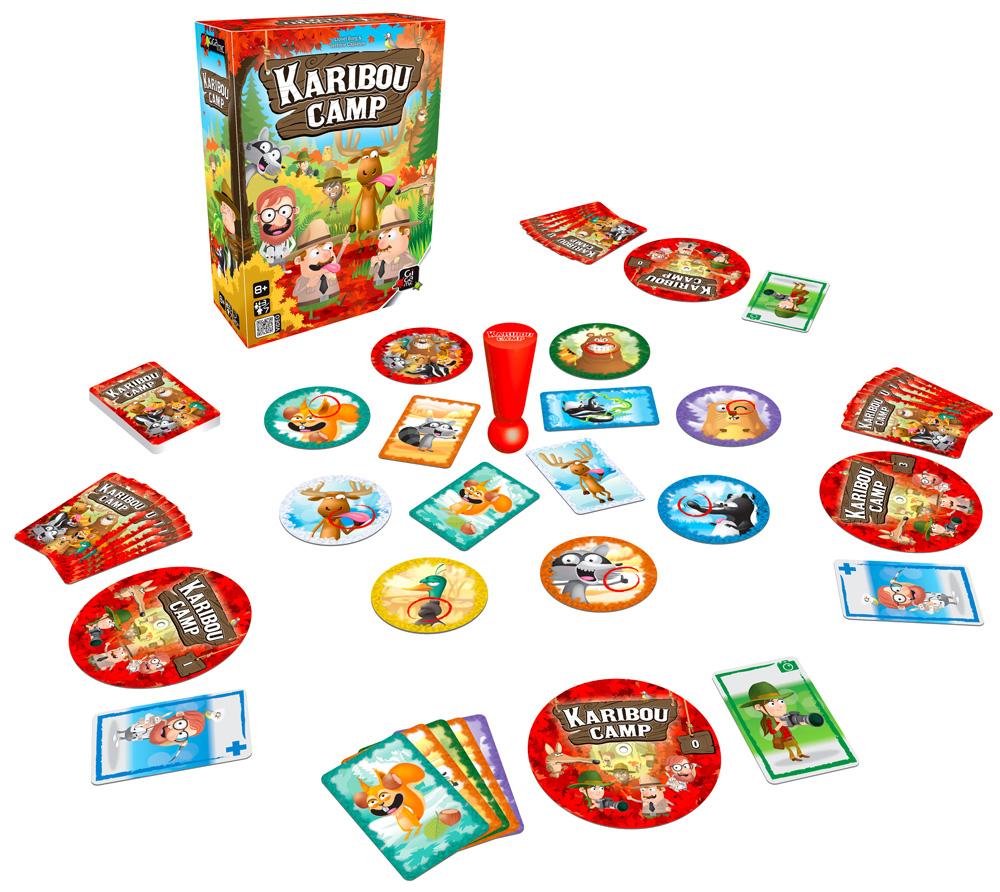 illustration de party game