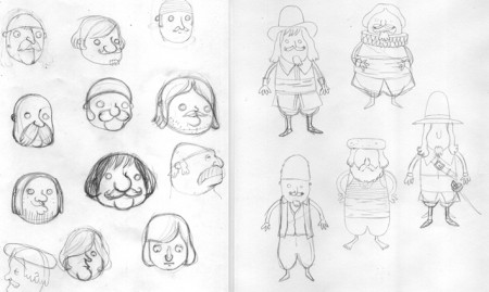 croquis de pirates