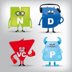 création de mascottes 2D en image vectorielle