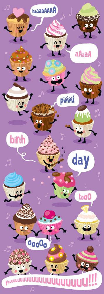 illustration-cartoon-cupcakes