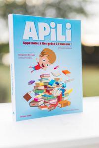 illustration de couverture du livre pédagogique d'apprentissage de la lecture Apili