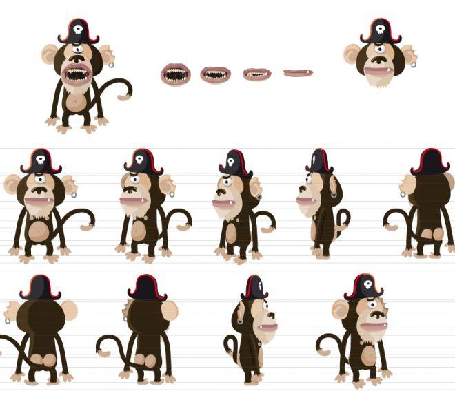 monkey-character