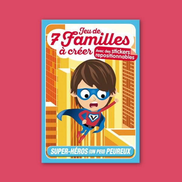 Superhéros – 7 familles