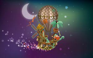 portfolio d'illustrateur freelance : illustration d'un bateau pirate